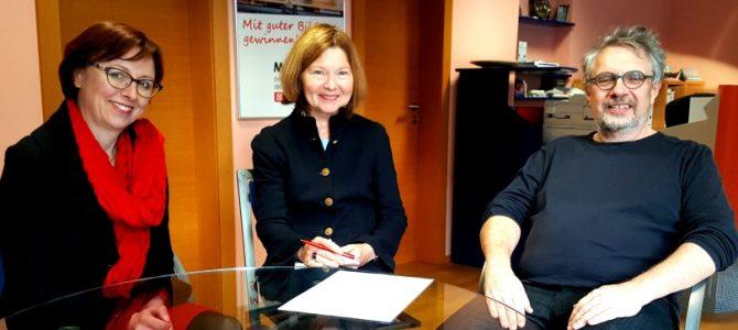 Sichtbar werden: Gespräch mit Margit Wild, MdL