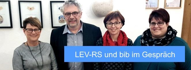 Sichtbar werden: LEV-RS und bib im Gespräch