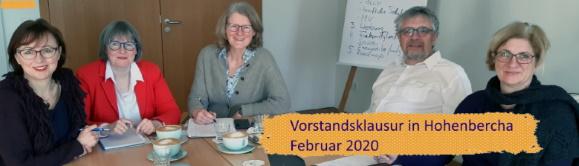 Vorstandsklausur Februar 2020