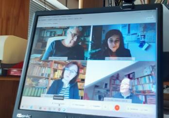 Videokonferenz mit Ministerium