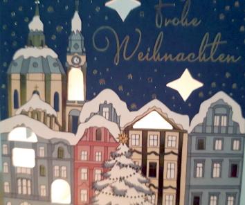 Frohe Weihnachten und ein frohes und gesundes neues Jahr …