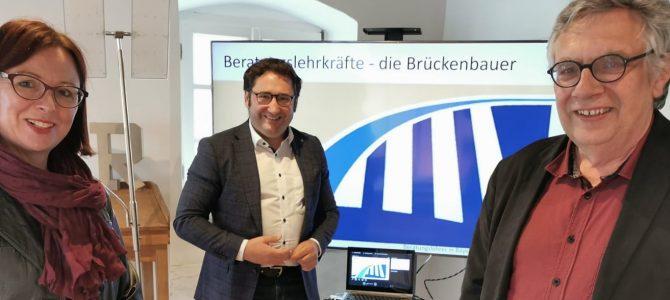 Vorstellungsgespräch bei MdL Tobias Gotthardt, Freie Wähler